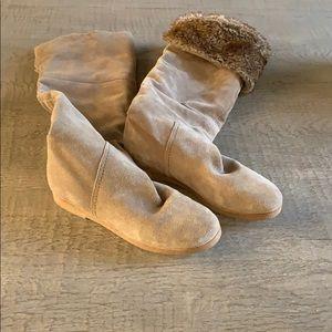 Sam Edelman Knee high suede boots